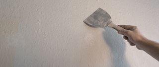 afwerking van muur